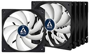 <b>ARCTIC</b> F12 - 120 mm Standard <b>Case Fan</b> - Five Pack, Ultra Low ...