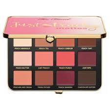 <b>Too Faced Just</b> Peachy Eye Shadow Palette VELVET MATTE EYE ...