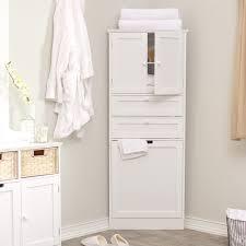 Bathroom Tower Storage Towel Cupboard Bathroom