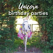 A unicorn <b>Pony Party</b> - every <b>little girl's</b> dream - ashtonparkmossvale ...