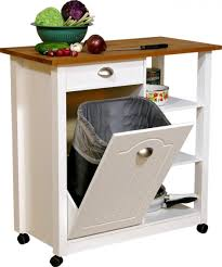 Kitchen Cabinet Garbage Drawer Kitchen Impressive Tilt Out Kitchen Trash Can Cabinet Portable