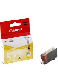 Струйный <b>картридж CLI</b>-<b>521Y</b> Yellow (2936B004) <b>CANON</b> ...