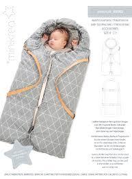 90902 <b>Baby Sleeping Bag</b> / <b>Stroller</b> Bag - Paper Pattern | Minikrea
