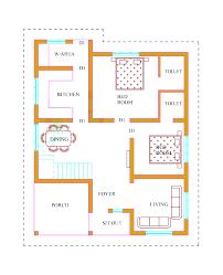 Kerala House Plans   Estimate Lakhs   sq ftGround floor plan