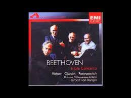 <b>Beethoven</b> - <b>Triple Concerto</b> (Richter - Oïstrakh - Rostropovitch ...