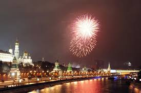 <b>New Year's</b> Day in Russia