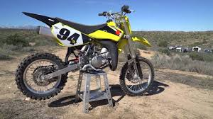 2016 <b>Suzuki RM85</b> | Dirt Rider 85cc <b>MX</b> Shootout - YouTube
