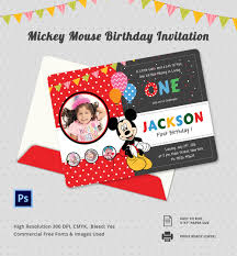 20 mickey mouse invitation templates sample example cute micky mouse invitation template