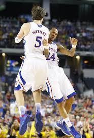 kansas basketball v michigan ncaa sweet kusports com photo thumbnail
