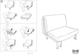 lycksele frame chair bed assembling ikea chair