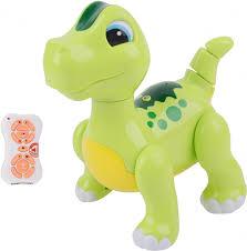 <b>Радиоуправляемый интерактивный</b> зеленый робот <b>динозавр</b> ...