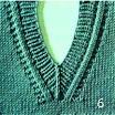 Вязание на спицах горловина обвязка