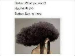 The barber meme - NeoGAF via Relatably.com