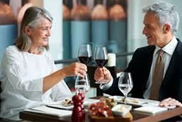 Older dating  ready for a new beginning    EliteSingles EliteSingles Mature couple on a date