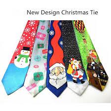 RBOCOTT <b>Christmas</b> Ties Red Good Quality Printed Necktie 9cm ...