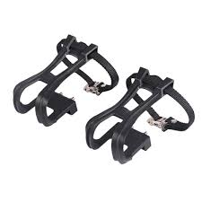 1 Pair of Black <b>Cycling</b> Durable <b>Creative</b> Clip Strap <b>Belt</b> for MTB ...