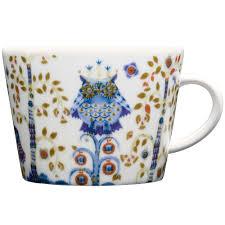 <b>Чашка кофейная Taika</b>, белая оптом под логотип