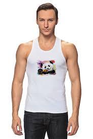 <b>Майка классическая Панда</b> с леденцом #736833 по цене 869 руб ...