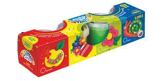 <b>Lori Тесто для лепки</b> Пластишка 4 цвета - Акушерство.Ru