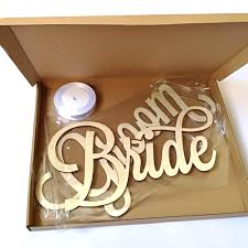 2018 New Fashion 2pcs Rustic Wedding <b>Wooden</b> Chair Sign <b>Bride</b> ...
