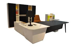 3d concept executive modern office secretary desk table with chair and table amazing executive modern secretary office desk