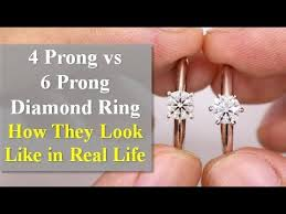 4 Prong vs <b>6 Prong</b> Diamond Ring - What Are the Differences ...