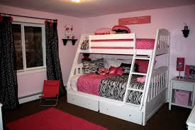 black and white teen girls alluring home bedroom design ideas black