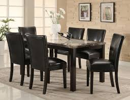Marble Top Kitchen Table Set Coaster Fine Furniture 102260 102262 Carter Dining Table With