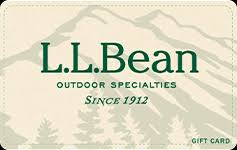 Buy LL Bean Gift Cards   GiftCardGranny