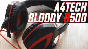 Обзор <b>A4Tech</b> Bloody G500 // <b>Игровая гарнитура</b> - YouTube