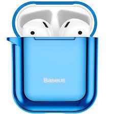 <b>Чехол</b> для Apple AirPods 1/2 <b>Baseus Shining Hook</b> Case - Синий ...