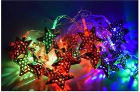 Buy Miradh <b>String Lights Moroccan Ball</b> Multicolor 11ft 16LED Globe ...