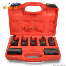 <b>7pcs diesel injector</b> nozzle socket set 25mm 27mm 28mm 29mm ...