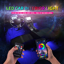 <b>Led Car Foot</b> Ambient Light With USB Cigarette Lighter Backlight ...