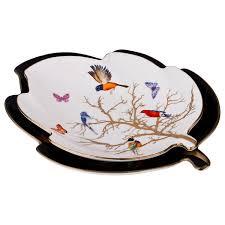 """<b>Набор блюд 2</b> шт Лист """"Райская птица"""" / 189265 купить в Москве ..."""