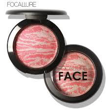 Wholesale- <b>1pcs Professional Cosmetic</b> Bake blush stereo bronzer ...