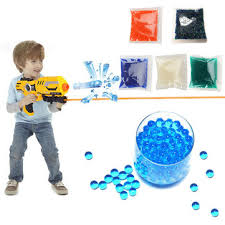 10000pc 7-8mm <b>gel balls</b> ammo crystal <b>water beads</b> gel toy Sale ...
