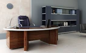home decor large size captivating office interior decoration ideas with shiny brown f wooden workbench captivating office interior decoration