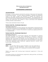 supervisor job description for resume com supervisor job description for resume for a job resume of your resume 7