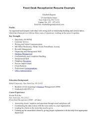 medical resume templates resume badak medical office receptionist resume example