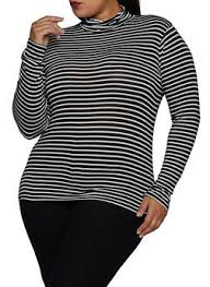 Cheap <b>Plus Size</b> Womens <b>Turtleneck</b> Tops | Everyday Low Prices ...