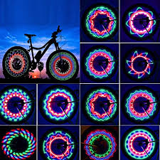 <b>Bicycle Lights</b> & Reflectors New <b>Cool Colorful</b> Bikes Cycling Spoke ...