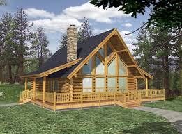 Log Home Plans With Loft   Smalltowndjs comUnique Log Home Plans With Loft   Small Log Cabin Home House Plans