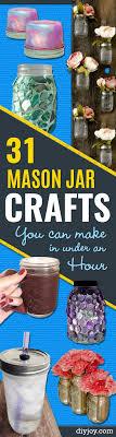 jar crafts home easy diy: mason jar crafts you can make in under an hour quick mason jar diy projects