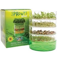 Kitchen Garden Sprouter Sprouts Alive Kitchen Seed Sprouter Cleverpatch