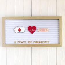 Nursing <b>Letter</b> Board Set / Nurse <b>Letter</b> Board Icons / Healthcare ...