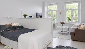 living room with bed:  living room and bedroom adorable with how to divide one room into two rooms small house