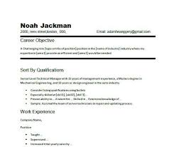 perfect resume objective examples   Template   perfect resume objective