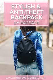The Most Stylish <b>Anti</b>-<b>Theft</b> Travel <b>Backpack</b> for <b>Women</b> | <b>Anti theft</b> ...
