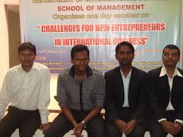 department of international business pondicherry university department of international business